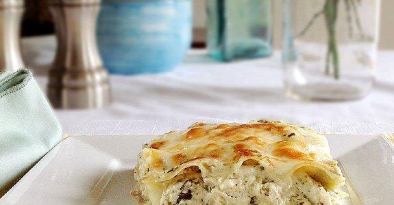 Creamy Pesto Lasagna