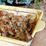Stuffing and Chicken Casserole