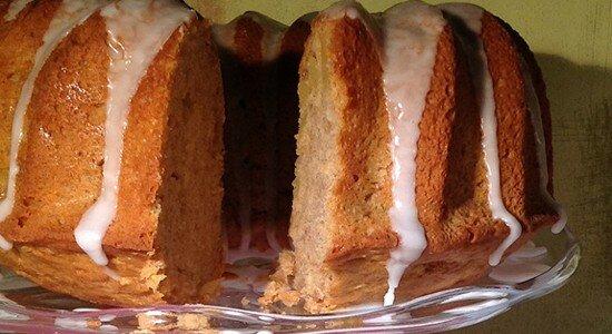 Cinnamon Apple Bundt Cake for #BundtBakers